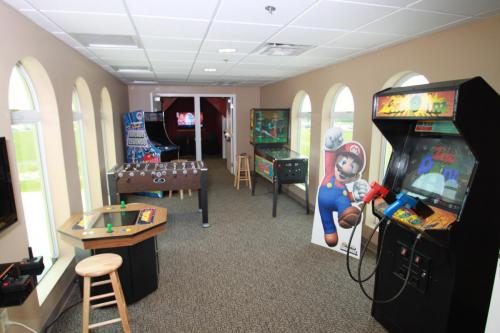 game room new office
