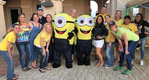 """The Minions"" Movie Night at League City Family Dentistry"