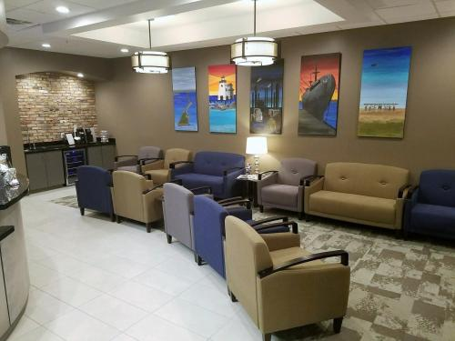 Texas City Family Dentistry Reception Area