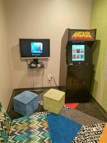 Kid's game room at Texas City Family Dentistry