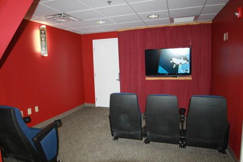 Movie Room at League City Family Dentistry